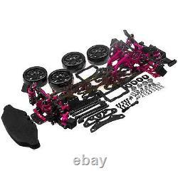 1/10 Alloy & Carbon SAKURA D4 RWD Drift Racing Car Frame Body Kit #KIT-D4RWD
