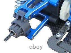 1/10 Alloy & Carbon TT01 TT01E Shaft Drive 4WD Racing Car Chassis Frame Kit
