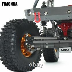 1/10 RC Crawler Metal Frame Chassis Kit Off Road Truck 4WD Car Drift Racing Kit