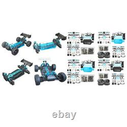 1/10 Scale Car Chassis Frame DIY Parts 4WD Brushless for RC Racing Car