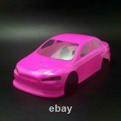 1/28 Drift Racing MINID RC Car KIT Lancer EVO Body Shell AWD Chassis Motor ESC