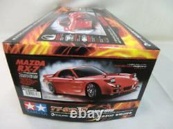 110 Electric RC 4WD Racing Car Mazda RX-7 FD3S TT-02D Chassis Drift Spec TAMIYA