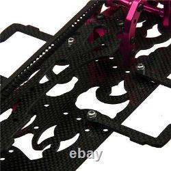110 RC Drift Frame Car Body Kit EP On Road KIT 4WD For 3Racing Sakura D4 AWD