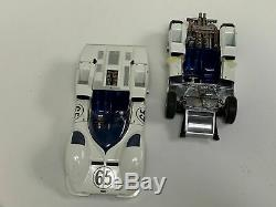 118 Exoto Chaparral 2E race car wins 1966 Laguna Phil Hill w rolling chassis