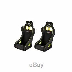 2 x OMP TRS-X Clubman Rally Competition Race Racing Car Steel Frame Seats