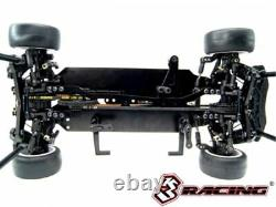 3RACING KIT-M4TCR SAKURA 1/10 EP RC M Chassis 4WD Touring Car With TCR Body Set