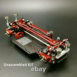 AUDI R8 Body Shell Car Upgraded Chassis Part KIT 1/28 Race Drift MINID RC Model
