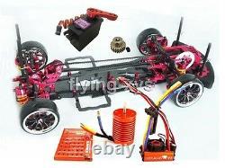 Alloy&Carbon 1/10 SAKURA D3 Drift Racing Car Frame Kit & SKYRC LEOPARD 60A Combo