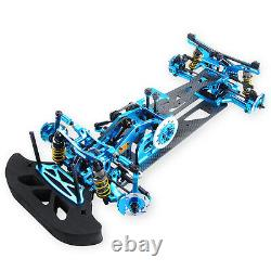 Alloy &Carbon Fiber Frame Chassis Body G4 Kit RC 110 Car Drift Racing Car 4WD