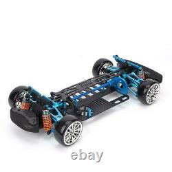 Alloy Carbon Fiber Frame Kit G4 For 110 TT01/TT-01 RC 4×4 on Road Racing CarTU
