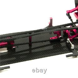Alloy & Carbon RC 1/10 Drift Racing Car Frame Body Kit 110 FOR SAKUR XIS Drive