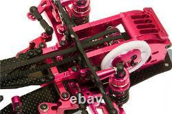 Alloy & Carbon RC 1/10 Drift Racing Car Frame Kit for SAKURA D3 CS 3R OP