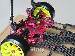 Alloy & Carbon SAKURA D3 CS 1/10 4WD Drift Racing Car Frame Body & Front one Way