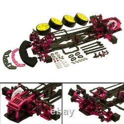 Alloy & Carbon SAKURA D3 CS 3R OP 1/10 4WD Drift Racing RC Car Frame Kit 110
