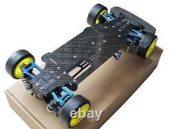 Alloy & Carbon TT01 TT01E Shaft Drive 1/10 4WD Racing Car Chassis Frame Kit