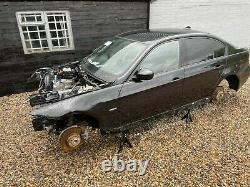 Black 2010 Bmw 330d M Sport Shell Chassis With Log Book Track Race Drift