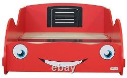 Boy Girl Red Racing Car Toddler Junior Bed Cotbed 70 140