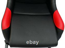 Car Gaming Racing Simulator Frame Chair Bucket Seat Gift For PS5 XBOX Black Red