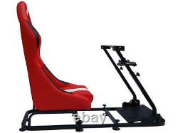 Car Gaming Racing Simulator Frame Chair Bucket Seat Gift For PS5 XBOX Games