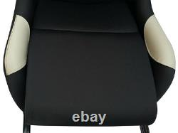 Car Gaming Racing Simulator Frame Chair Bucket Seat PC PS3 PS4 XBox Black/Grey