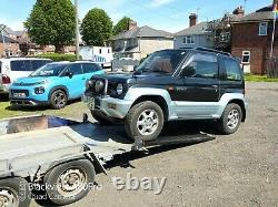 Car Trailer built on Ex Ivor Williams horse box chassis ideal for small race off