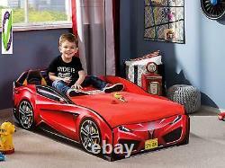 Cilek Race Car Toddler Bed Frame, Toddler