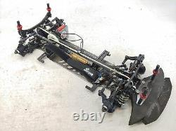 Destiny Racing 1/10 4wd Touring Car Roller Slider Chassis Carbon Fiber Aluminum