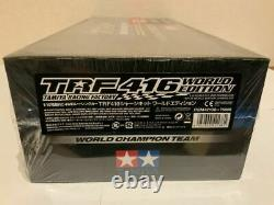 Electric RC 4WD racing car with TAMIYA shrink TRF416 chassis kit World Edition