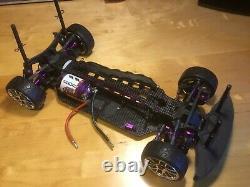 HPI Racing Pro 4 Hara 1/10th Touring Car. Built up chassis kit