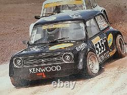 Historic rallycross Dave Pritchard space frame Mini, hillclimb, race car