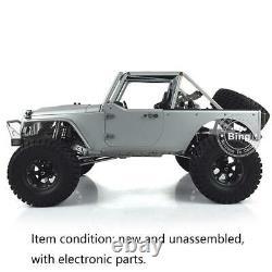JKMAX 1/8 KIT-E Metal Chassis Crawler Car Capo Model ESC Motor Servo RC Racing