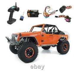 JKMAX Assembled Car 1/8 RC Capo Metal Chassis Crawler Race ESC Motor Radio Servo