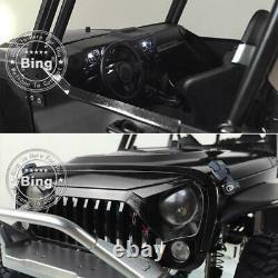 JKMAX Car Paint Capo KIT-E Kit 1/8 RC Racing Crawler Metal Chassis ESC Motor