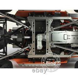 JKMAX Metal Chassis Crawler KIT Ver Orange Painting kit Capo 1/8 RC Racing Car