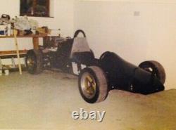 JW4 Single Seater Race Car Restoration Project