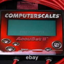 Longacre Racing 72593 Accuset II Digital Computer Race Car Scale Chassis Dirt
