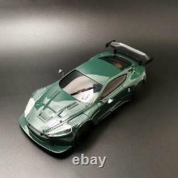 MINID 1/28 RC Drift Racing AstonMartin Body Shell Car Chassis KIT With Motor Servo