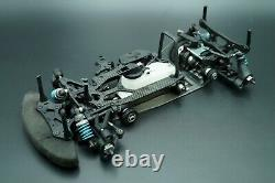 Mugen Seiki MTX4 Nitro 200mm Racing Touring RC Car Rolling Chassis OZRC JL