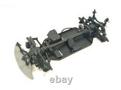 NEW HPI Racing RS4 Sport 3 Flux 1/10 4wd RC Touring Car Roller Slider Chassis