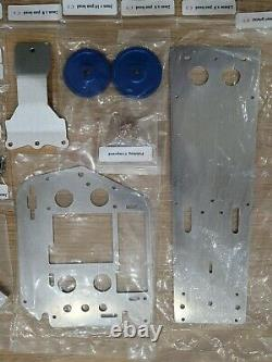 New Aluminum Chassis Gear Screws Upgrade Parts Tamiya 1/10 R/C FIGHTING BUGGY