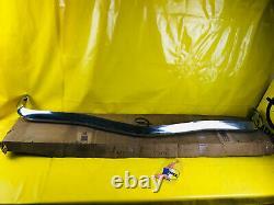 New Original Bumper Front Opel Ascona A Bumper Chrome Bumper NOS