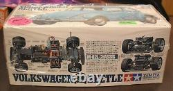 New Tamiya 110 Scale R/C Racing Car Volkswagen Beetle M-02L Chassis Model Kit