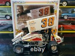 R&R Sprint Cars 1983 Ken Schrader #38 Gambler Chassis 118 Scale Diecast Racing
