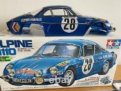 RARE TAMIYA 58168 1/10 RC ALPINE A110 Racing Car M-02 chassis