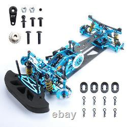 RC 110 4WD Drift Racing Car G4 Frame Kit 078055B Alloy&Carbon Fiber Body Model