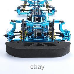 RC 110 Model 078055B 4WD Drift Racing Car G4 Frame Kit Alloy&Carbon Fiber Body