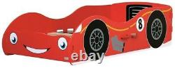 Racing Car Toddler Bed Red Kidsaw Bed Frame Kids Bed NEW