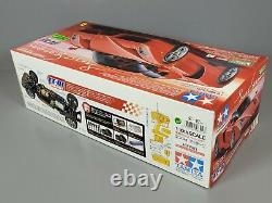 Rare Vintage Tamiya 1/10 R/C Enzo Ferrari TT-01 Chassis 4WD Racing Car # 58302