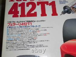 TAMIYA 1/10 RC Ferrari 412T1 F103 Chassis Model Kit 58142 from Japan