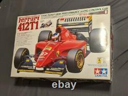 TAMIYA 1/10 RC Ferrari 412T1 F103 Chassis Racing Car Model Kit 58142
